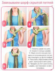 Как красиво завязать шарф?. Советы