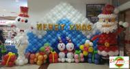 Новогодние украшения из воздушных шариков. Семья и дети, Хобби