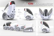 «Citi Transmitter» - гироскопический электрокар в городе.. Технологии, наука, IT