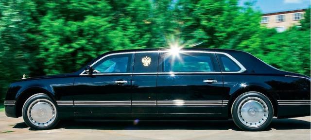 "Лимузин для Президента. Проект ""Кортеж"". Авто"