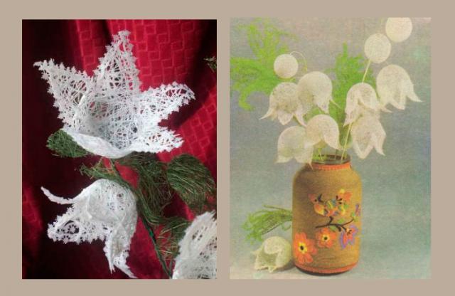 Мастеркласс: цветы из ниток. Семья и дети, Хобби