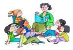В одной библиотеке…. Семья и дети