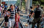 Мигранты борются за жизнь для себя и своих детей. В чем их вина?. В мире