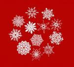 Схемы для вырезания снежинок. Культура/искусство